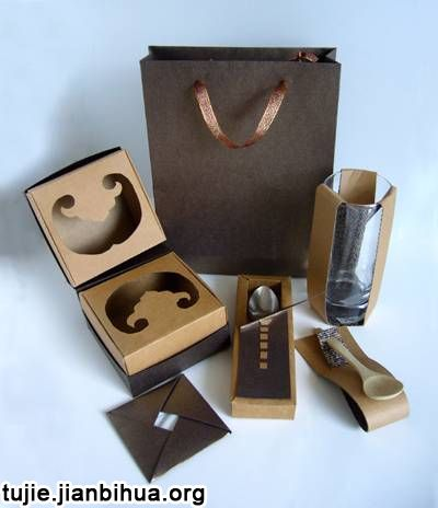 纸盒魅力作品图片欣赏(二)