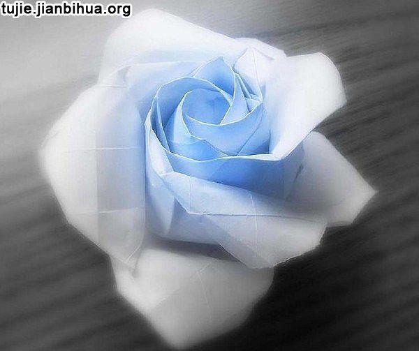 领带叠玫瑰花步骤_玫瑰花折纸方法图解(第3页)