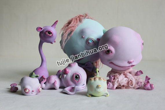 软陶雕塑作品欣赏